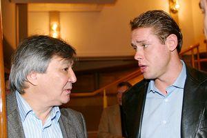 Alimzhan Tokhtakhounov and Pavel Bure