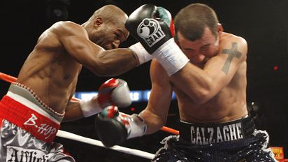 Bernard Hopkins and Joe Calzaghe