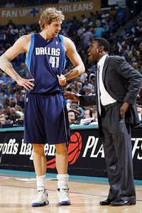 Dirk Nowitzki-Avery Johnson