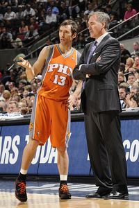 Steve Nash and Mike D'Antoni