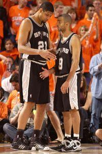 Tim Duncan, Tony Parker