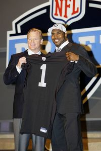 Roger Goodell and Darren McFadden