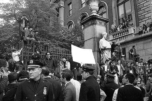 Columbia University demonstration