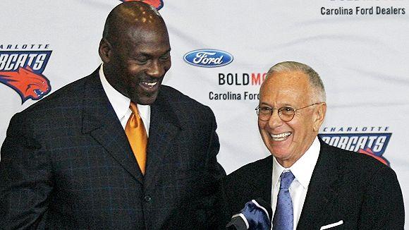 Michael Jordan and Larry Brown
