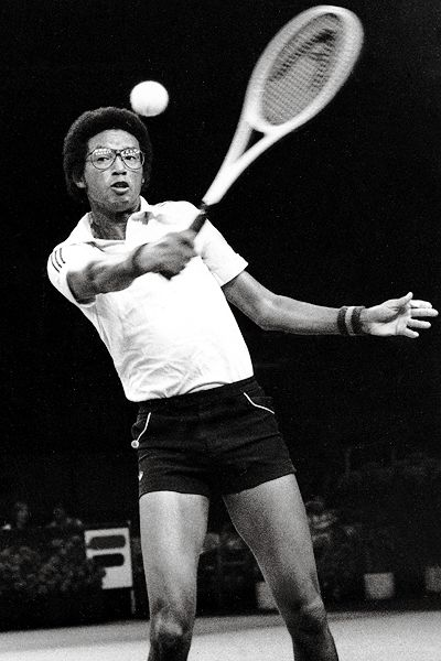 biography of arthur ashe and his career in athletics Explore biographycom's collection of famous black athletes tiger woods is a professional golfer who set an amazing career in arthur ashe is the first.