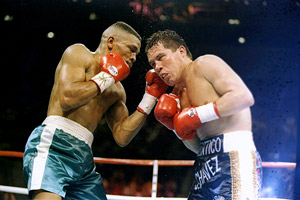 Frankie Randall and Julio Cesar Chavez