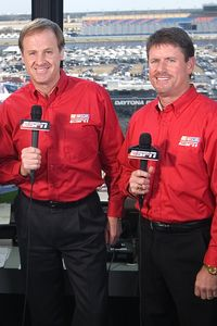 Rusty Wallace and Andy Petree
