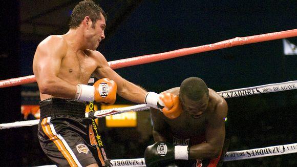 oscar de la hoya boxer. Oscar De La Hoya, Steve Forbes