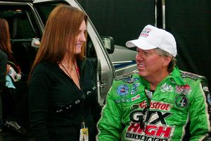 Laurie Force and John Force
