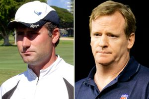 Matt Walsh, Roger Goodell