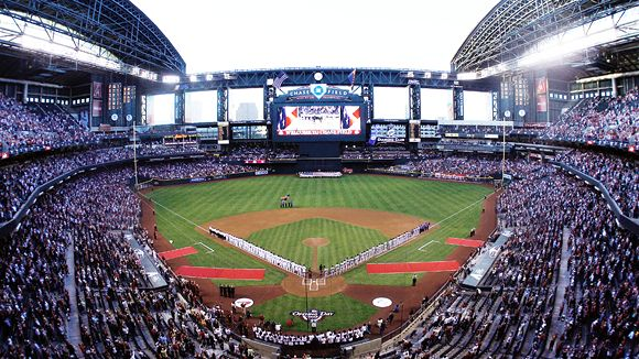 Chase field seating chart pictures directions and history