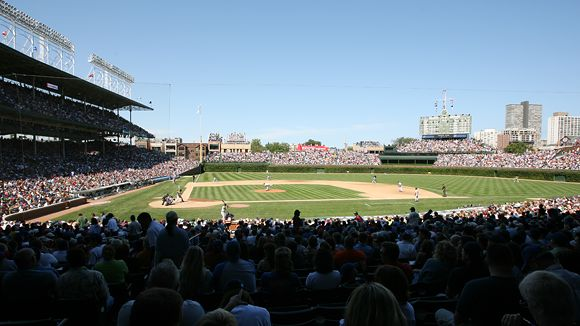 Wrigley field seating chart pictures directions and history