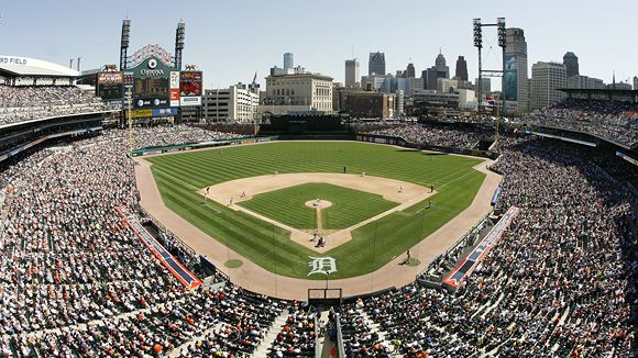 detroit tigers seating chart with seat numbers: Comerica park seating chart pictures directions and history