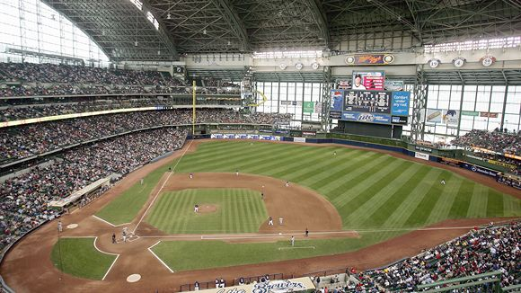 Miller Park Seating Chart, Pictures, Directions, and ...