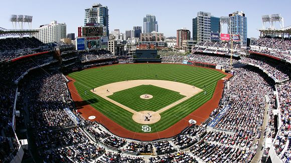 Petco park seating chart pictures directions and history san