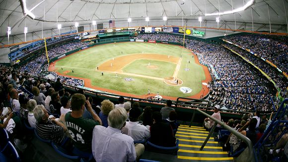 Tropicana Field Seating Chart, Pictures, Directions, and ...