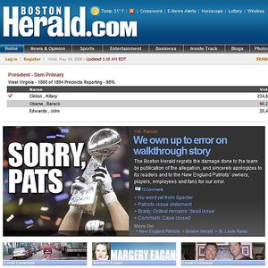 Boston Herald retraction