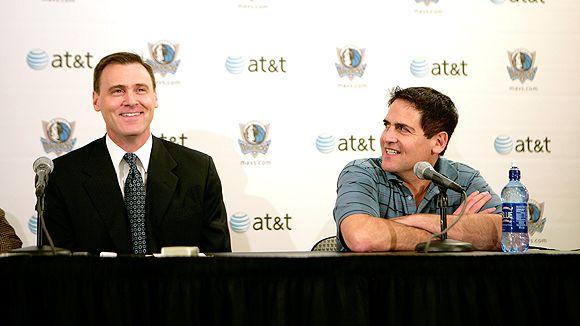 Rick Carlisle and Mark Cuban