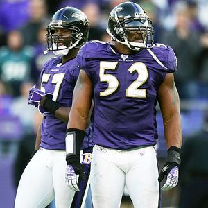 Ray Lewis and Bart Scott