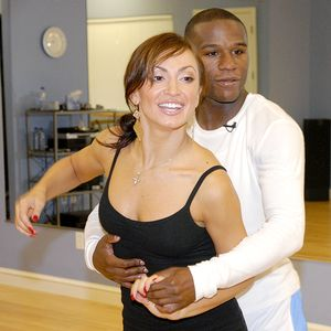 Floyd Mayweather Jr and Karina Smirnoff