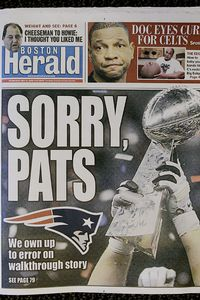 Boston Herald Cover