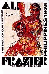 Ali Frazier Poster