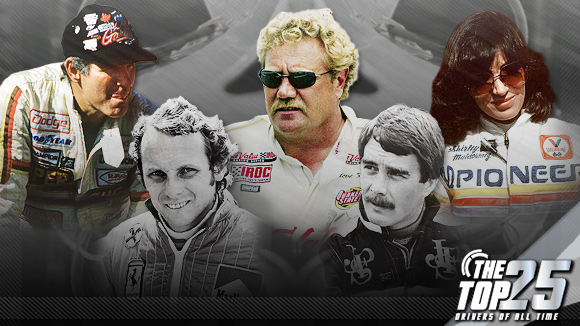 Top 25 Drivers of All Time