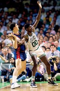 Robert Parish and Bill Laimbeer