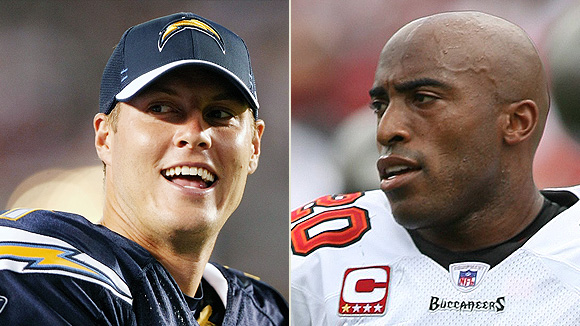 Philip Rivers and Ronde Barber