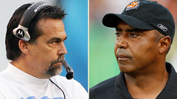 Jeff Fisher and Marvin Lewis