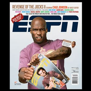 Chad Johnson/ESPN The Magazine Cover