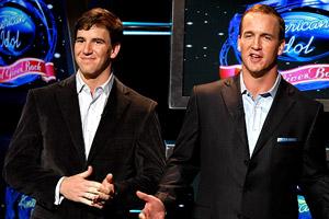 Peyton & Eli Manning