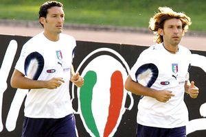 Gianluca Zambrotta and Andrea Pirlo