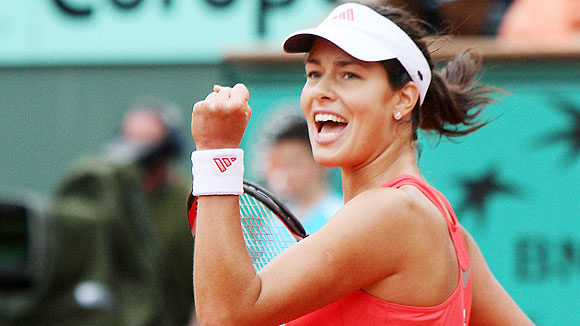 Ana Ivanovic Pierre Verdy AFP Getty Images After failing to capitalize in