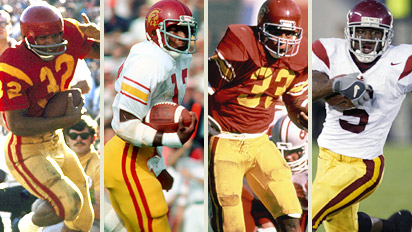 USC running backs