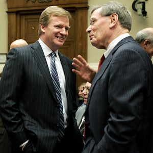 Roger Goodell and Bud Selig