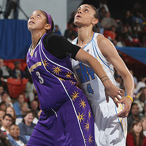 Candace Parker & Candice Dupree