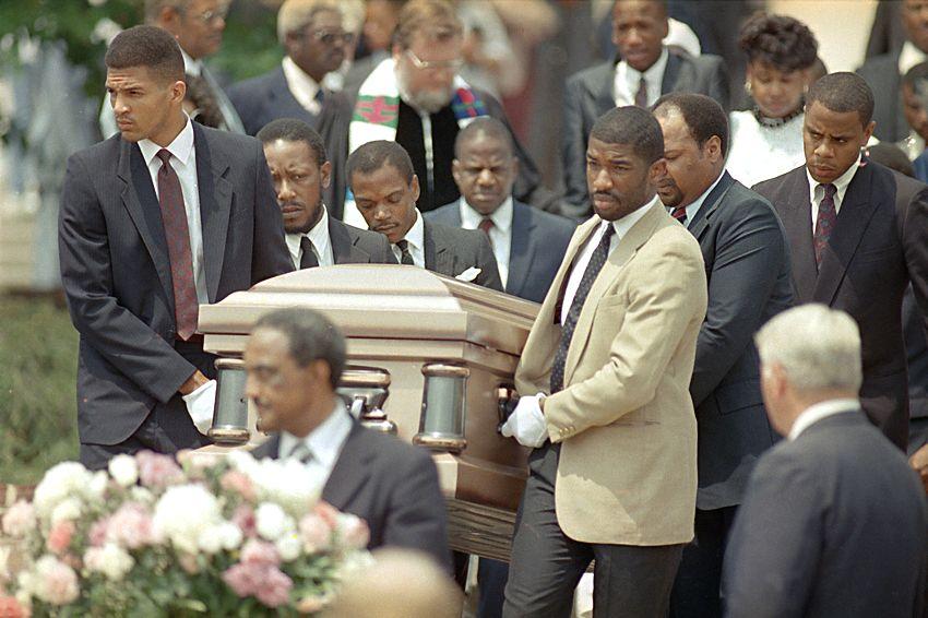 Len Bias funeral