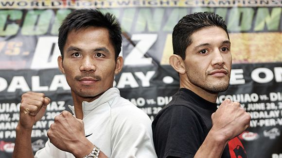 Manny Pacquiao and David Diaz