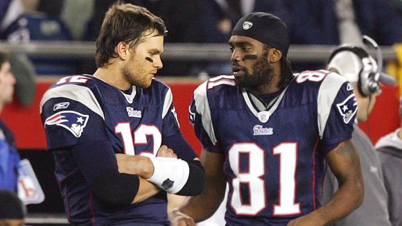 Randy Moss and Tom Brady