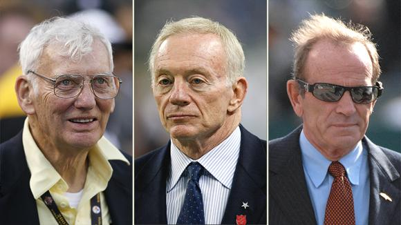 Dan Rooney, Jerry Jones, and Pat Bowlen