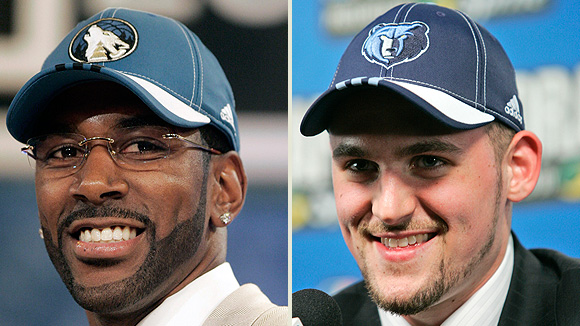 O.J. Mayo and Kevin Love