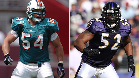 Zach Thomas & Ray Lewis