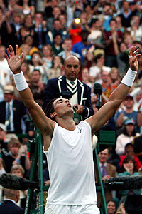 Rafael Nadal is on track to be the first man since Bjorn Borg to win the French Open and Wimbledon back-to-back.