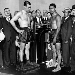 Max Schmeling and Jack Sharkey