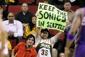 Sonics Fan Sign