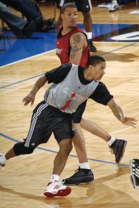 Derrick Rose and Michael Beasley