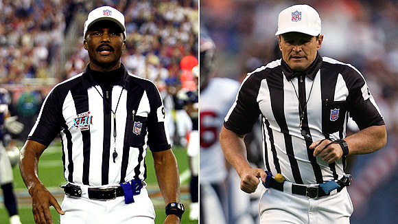 Mike Carey and Ed Hochuli