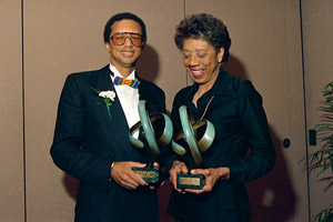 Althea Gibson and Arthur Ashe