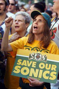 Sonics Fans (protest)